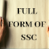 full form of ssc