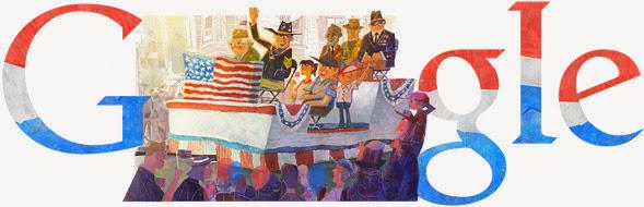 Doodle de Google para el Veterans Day 2.013
