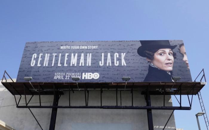 Gentleman Jack series premiere billboard