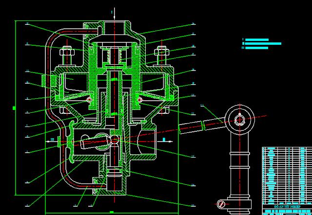 Bản vẽ hệ thống phanh khí nén