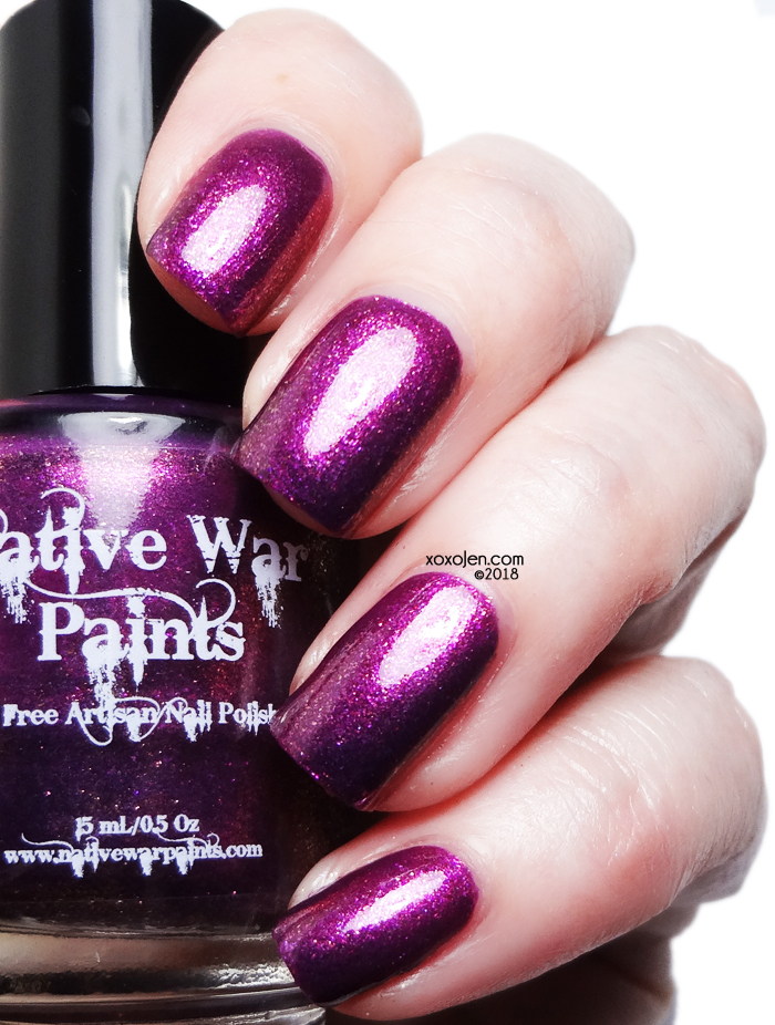 xoxoJen's swatch of Native War Paints Fall Harvest