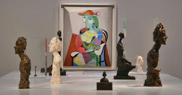 Exposición Picasso-Giacometti en Doha