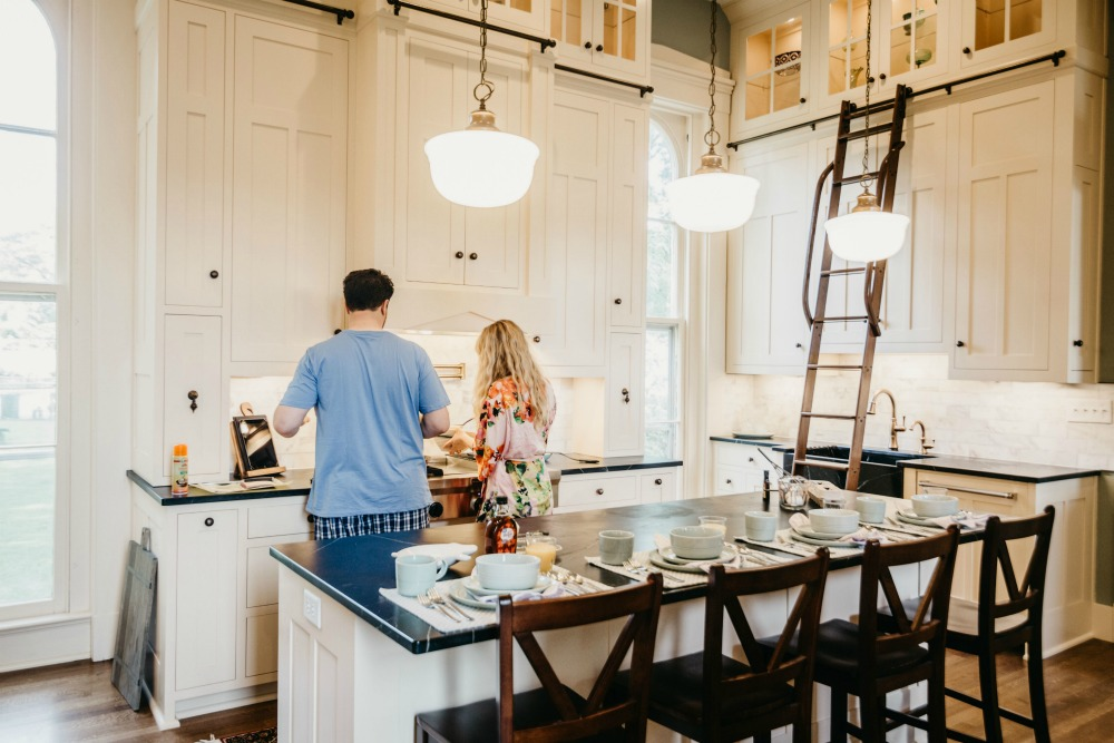 Kitchen Remodel in the Fixer Upper Historic Mansion - Rachel Teodoro
