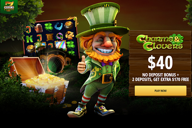 Charms $ Clovers at 7Reels Casino