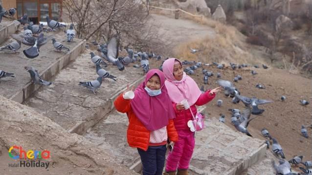 Tempat Wisata Turki Pigeon Valley