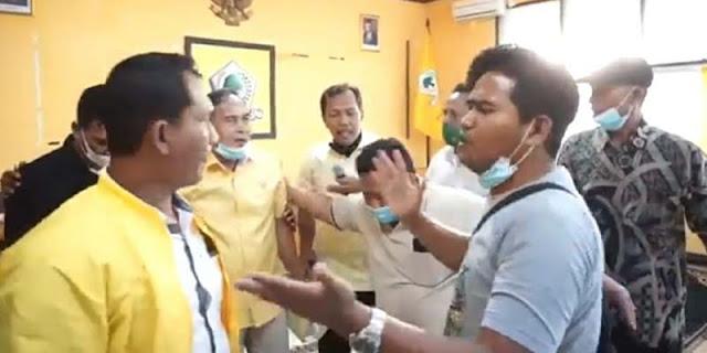Rapat Golkar Indramayu Ricuh, Dipicu Kehadiran Peserta Sudah Loncat Partai
