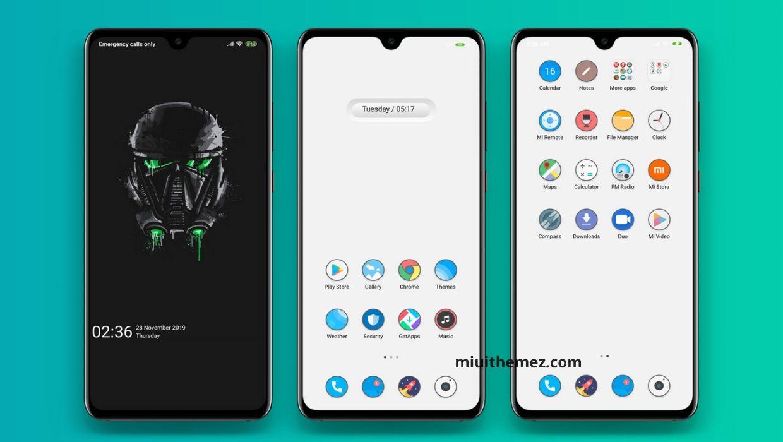 [HERUNTERLADEN] :  Kejo Aron MIUI Theme    Ein weißes Mi-Thema für Xiaomi-Geräte