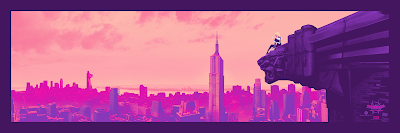 "New York Comic Con 2019 Exclusive Spider-Man: Into the Spider-Verse ""The One and Only Spider-Gwen"" Timed Edition Screen prints by Mark Englert x Bottleneck Gallery"
