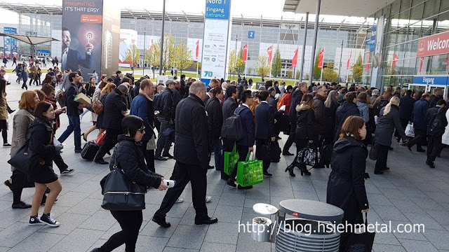 HANNOVER MESSE- HSIEH Metal Join the trade show