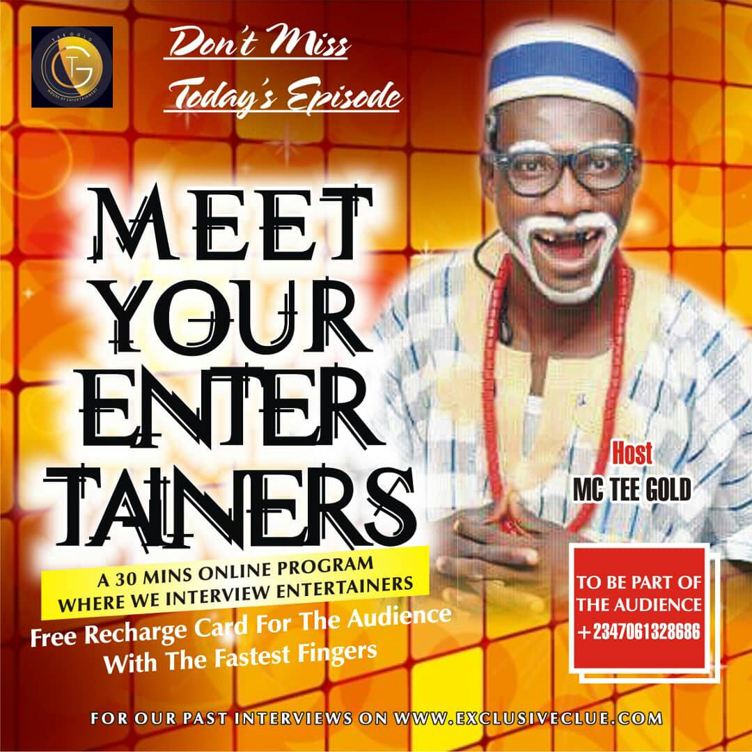 Meet Your Entertainers With MC Tee'Gold