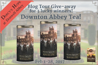 Giveaway prize - Downton Abbey Tea