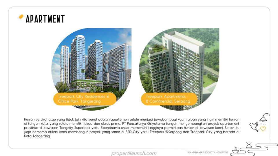 Proyek Apartemen PT. Pancakarya Griyatama