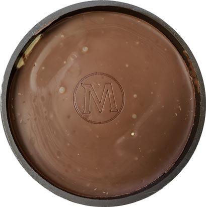 On Second Scoop: Ice Cream Reviews: Magnum Milk Chocolate Almond Ice