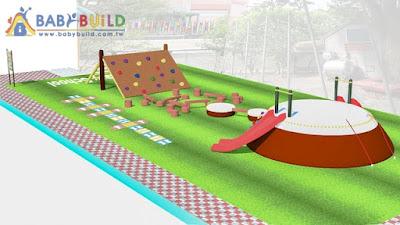 BabyBuild 遊戲場設計圖