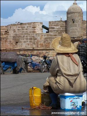 Vendeuse de poisson à Essaouira