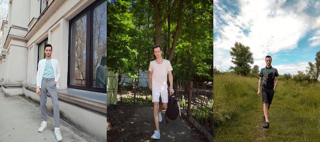 letnia moda męska