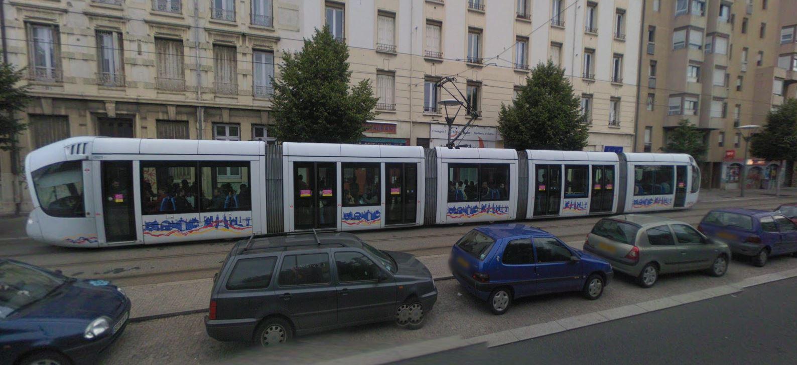 Le tramway de Lyon