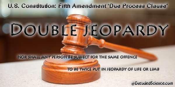 Double Jeopardy 5th Amendment Double Jeopardy...