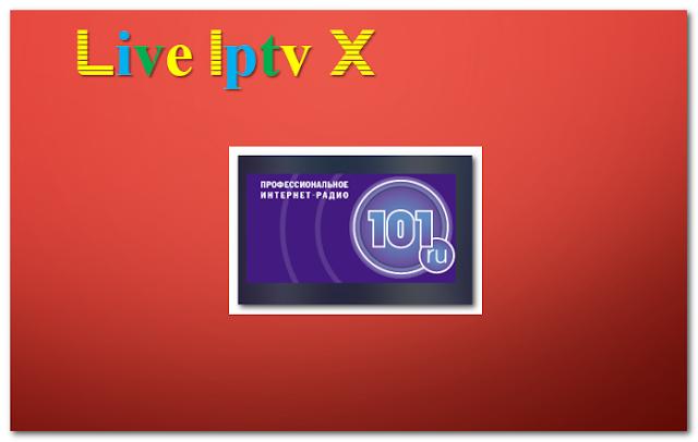 Internet radio station 101.RU Radio Addon
