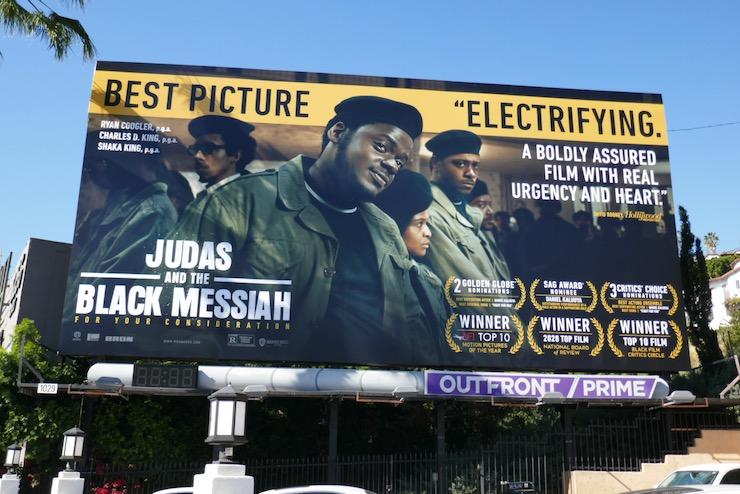 Judas and Black Messiah FYC billboard