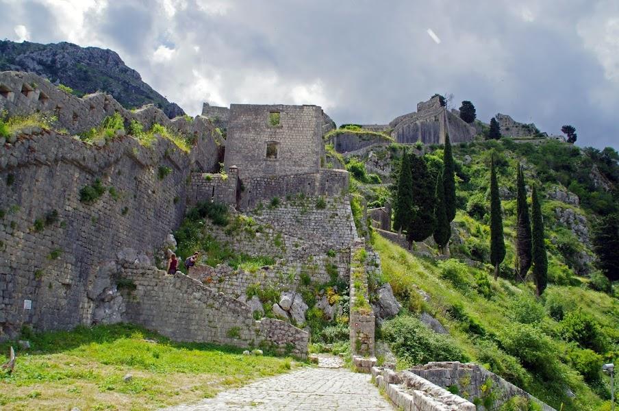 Kotor Fortress Montengro