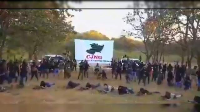"""Video: El Mencho amenaza a líderes de Carteles Unidos: """"Ganaré la guerra"""", """"Son zetas"""" y """"se escudan entre mujeres, niños y gobierno"""""""