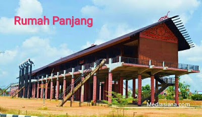 Rumah Adat Kalimantan Barat : Rumah Panjang