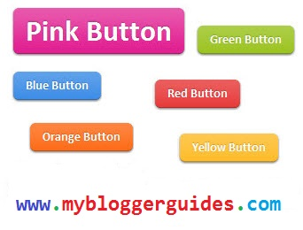 Add Beautiful CSS3 Buttons For Blogger