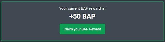 login ptcshare daily to get bap reward
