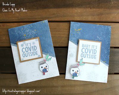 Baby It's COVID Outside cards