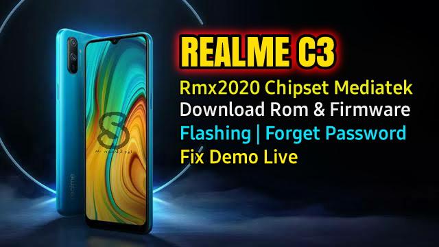 Download Rom Official / Flashing Realme C3 Rmx2020 Mediatek Lupa Password, Pola, Fix Demo