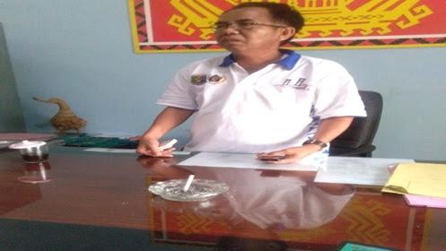 """Kepala BPMD Lampung Utara """"Wahab"""" Berlagak Preman Saat di Konfirmasi"""