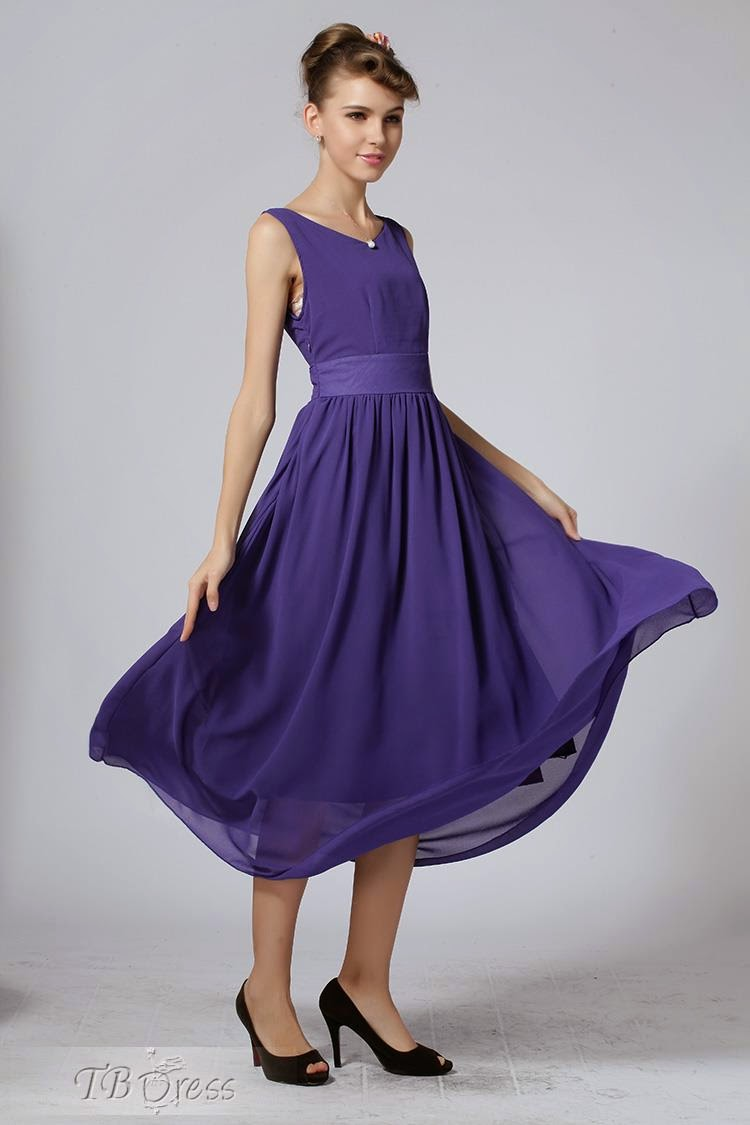 Latest Maxi Dresses In Chiffon For Girls By TBdress From 2014-15 ...