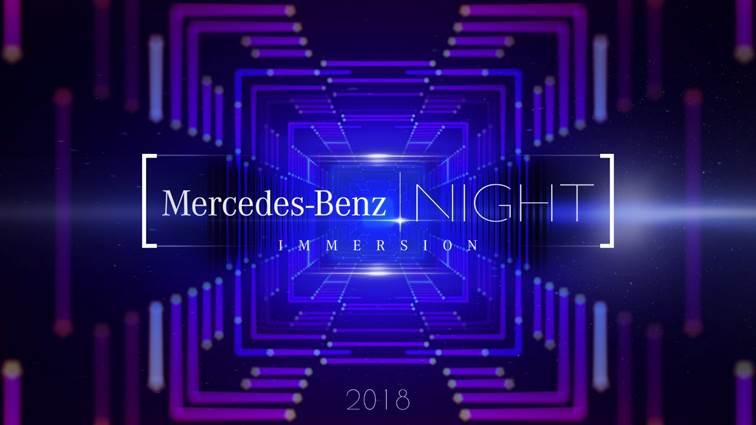 d144d37a1 Mercedes-Benz Night - Immersion busca estreitar relacionamento por meio de  uma experiência multissensorial exclusiva no universo da marca ...