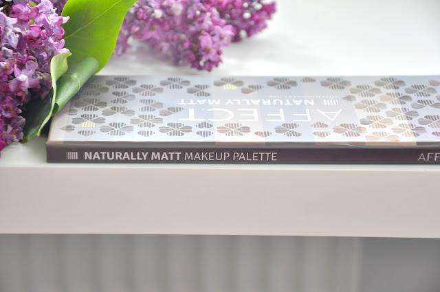 paletka cieni affect naturally matt by karolina matraszek. lepsza od zoevy?