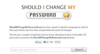 Site indica se dados de usuários foram hackeados e se ele deve mudar de senha