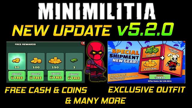 Mini Militia New Update v5.2.0. Beta