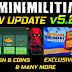 DA2 Mini Militia New Update v5.2.0 Is Out Get Free Cash and Coins in Mini Militia