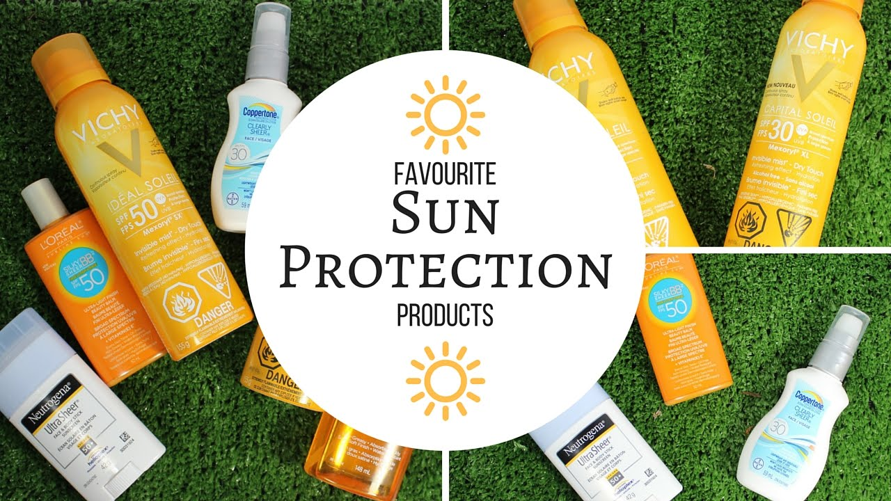 Beauty Vixen: Favourite Summer Sun Protection Products