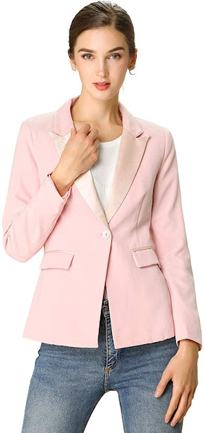 Gorgeous Pink Blazers For Women