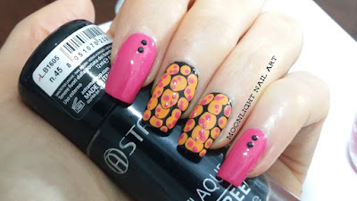 Easy nail art: blobicure nail art design