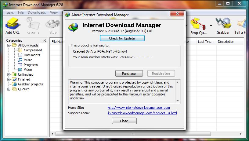 download internet download manager 6.28 full crack