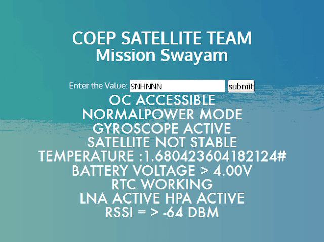 SWAYAM CW decoder