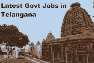 Apply Online/Offline For Government Jobs In Telangana