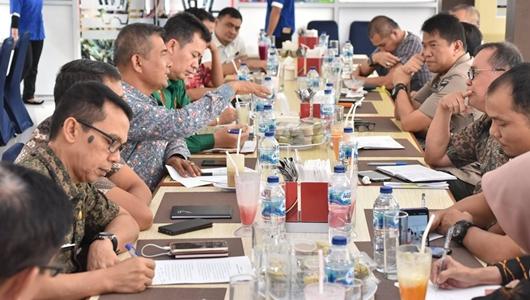 Tim Kewaspadaan Dini Kota Padang Sikapi Kelangkaan BBM dan LPG