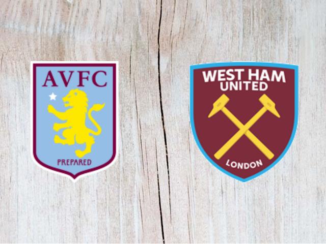 Watch Aston Villa vs West Ham United - Highlights
