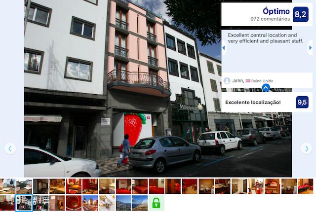 Hotel Catedral na Madeira