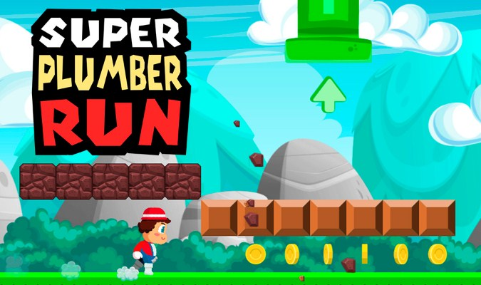Alternatif Game Super Mario Run Wajib Coba - Super Plumber Run