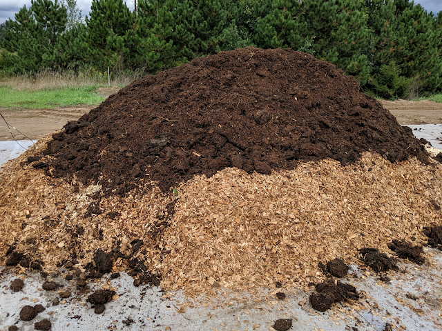 Compost mass livestock mortalities