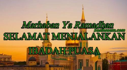 Gambar Ucapan Selamat Puasa Ramadhan Status Whatsapp WA